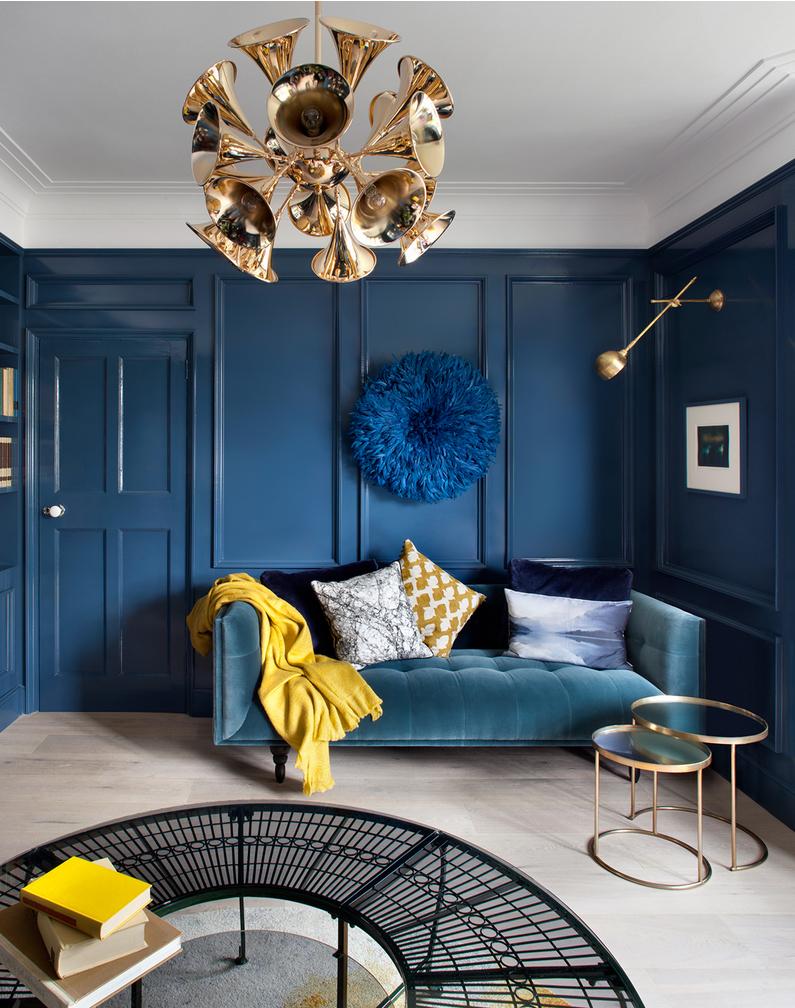 синяя гостиная